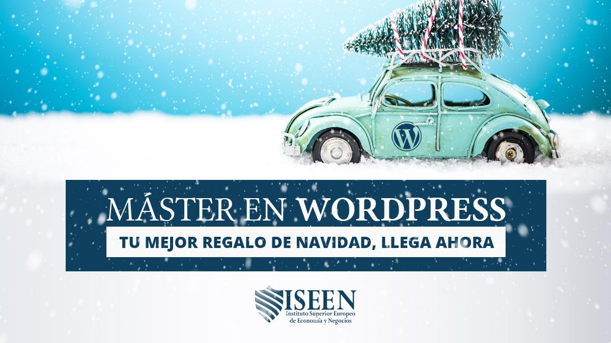 ISEEN primer Master en WordPress